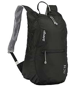 Vango Pac Packable Rucksack - Black, 15 Litres