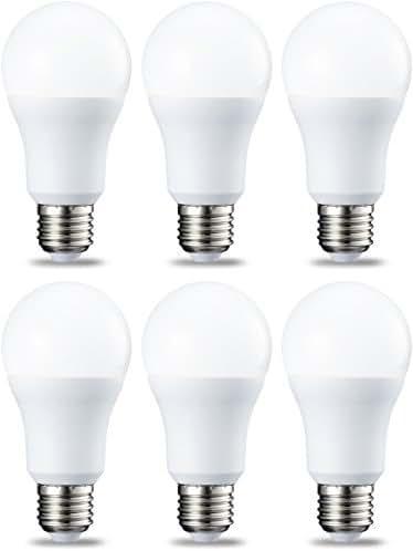 AmazonBasics Ampoule LED E27 A60 avec culot à vis, 10.5W (équivalent ampoule incandescente 75W),blanc chaud -