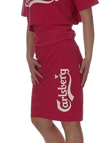 Carlsberg - Jupe spécial grossesse - Femme taille unique Fuchsia