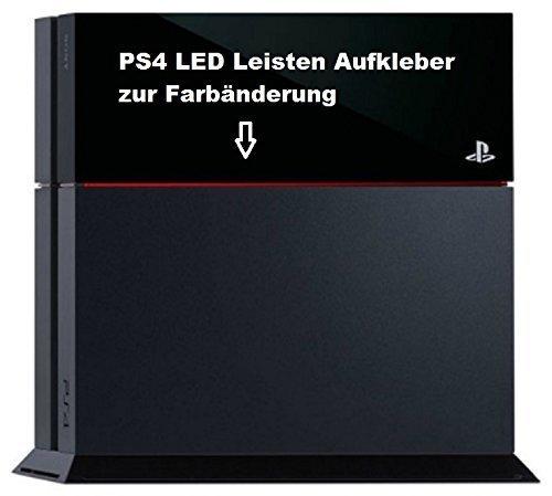 Die Beste Ps4 Lightbar Led Leisten Aufkleber Rot Günstig