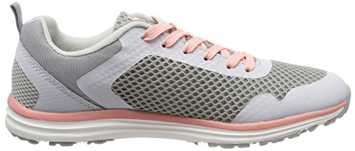 Bruetting Damen Movement Sneaker Grau (Grau/Salmon)