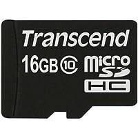 Transcend Extreme-Speed Micro SDHC 16GB Class 10 Speicherkarte (bis zu 20MB/s Lesen)