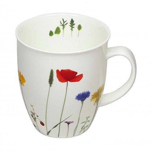 Cup und Mug Becher Soul Naturwiese Blumen 400ml Bone China Cup 8