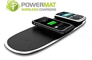Powermat Home & Office Wireless Charging Mat + FREE iPhone 4/4S receiver skin and protective case