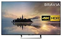 Sony Bravia KD43XE7002 4K HDR Smart TV (X-Reality PRO for Enhanced Clarity, Texture and Detail Picture Quality, 2017 Model) - 43 inch, Black