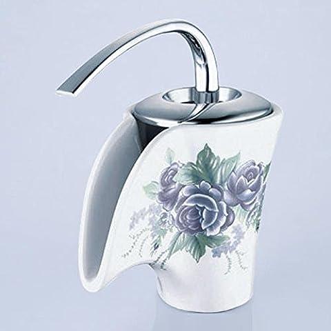 Modylee Stile europeo ceramica caldo e freddo lavabo cucina rubinetto vasca da bagno Kaiping rubinetto