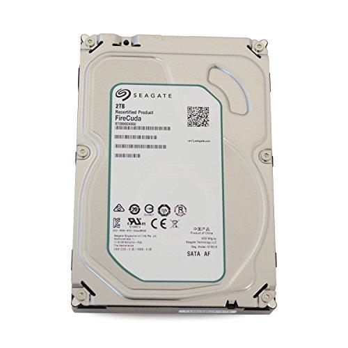 Seagate Desktop SSHD / FireCuda interne Hybrid-Festplatte; 3,5', 7200rpm; 64MB Cache, SATA III - recertified, Kapazität:2.000GB (2TB), Baureihe:Firecuda