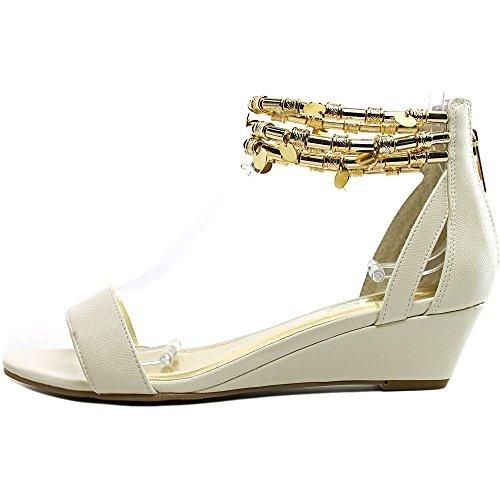 Thalia Sodi Lordes Damen US 8 Braun Keilabsätze Sandale YyWxAa95zw