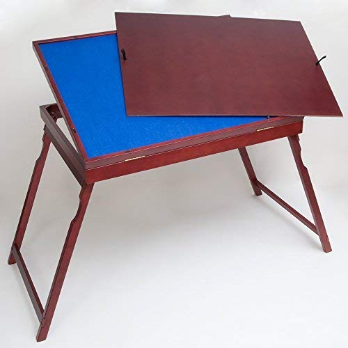Bits and Pieces Puzzle Expert Holz Tilt-Up-Table Folding Puzzle Zubehör Tabelle faltbar für einfache Lagerung