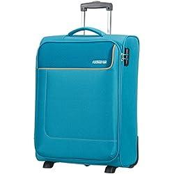 American Tourister 75506/1099 - Funshine Upright 2 Ruedas 55/20 Equipaje de Mano, Turquesa (Blue Ocean), 55 cm, 39 L