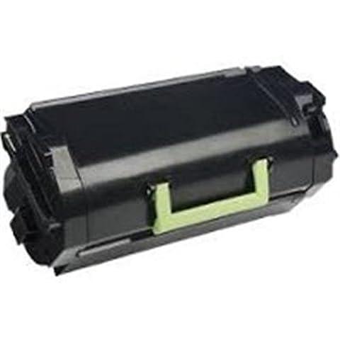 Toner compatibile return program 522 nero - Reprint - Lexmark Stampante MS810de - Laser-Copy, Lexmark Stampante MS810dn - Laser-Copy, Lexmark Stampante MS810dtn - Laser-Copy, Lexmark Stampante MS810n - Laser-Copy, Lexmark Stampante MS811dn - Laser-Copy, Lexmark Stampante MS811dtn - Laser-Copy, Lexmark Stampante MS811n - Laser-Copy, Lexmark Stampante MS812de - Laser-Copy, Lexmark Stampante MS812dn - Laser-Copy, Lexmark Stampante MS812dtn - Laser-Copy Codici compatibili: 52D2000