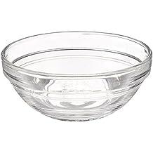Duralex Lys - Cuenco (6 unidades, 9 cm de diámetro), diseño transparente