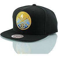 buy popular 73dee 2fa91 Mitchell   Ness Denver Nuggets Easy 3 Digital XL Snapback NBA Cap Black