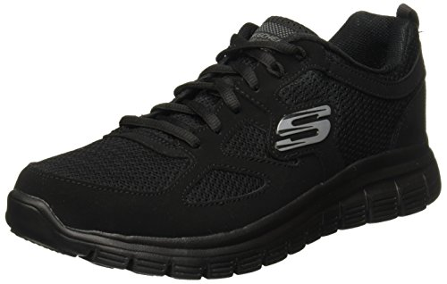 Skechers Burns 52635-bbk, Sneakers Basses Homme, Noir...