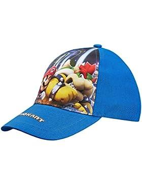 Nintendo Super Mario Bros Chicos Gorra de béisbol - Azul