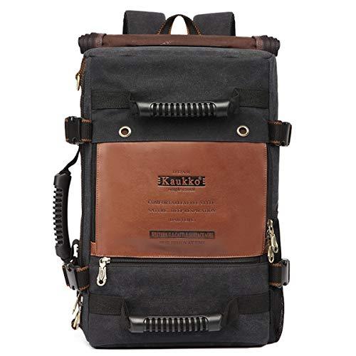 "Neverending Rucksack Damen Herren Studenten 17 Zoll Backpack für 15\"" Notebook Lässiger Daypacks Schüler Bag für Wandern"