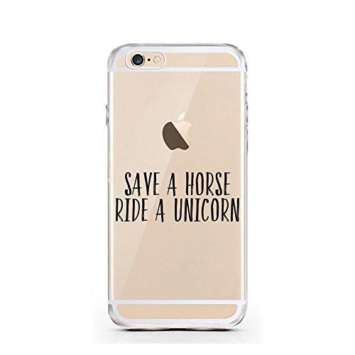 iPhone 5 5S SE Hülle von licaso® für das Apple iPhone 5S aus TPU Silikon SQ Zauber Sport Muster ultra-dünn schützt Dein iPhone SE & ist stylisch Schutzhülle Bumper in einem (iPhone 5 5S SE, SQ) Ride a Unicorn