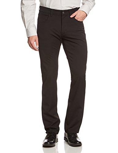 Pioneer Herren Straight Leg Jeanshose Rando, Gr. W42/L30, Schwarz (black 11) (Washed Leg Straight Jeans)