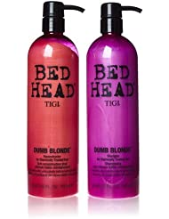 Tigi Bed Head Colour Combat Dumb Blonde Shampoo and Conditioner Duo Set 750 ml