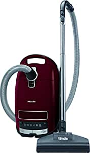 Miele Complete C3 Cat and Dog Power Line Bagged Cylinder Vacuum Cleaner, 4.5 L, 1200 W - Red