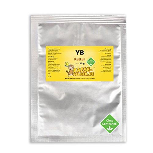 YB Joghurtkulturen 15g starkes Aroma, Joghurt selber machen, Joghurtkultur, Ferment