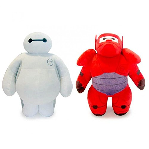 PACK 2 PELUCHES BAYMAX BIG HERO-6 30CM CALIDAD SUPER SOFT...