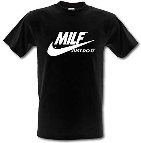 MILF JUST DO IT. funny rude Slogan Heavy Cotton t-shirt Small - XXL