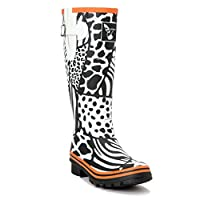 Evercreatures Wild Tall Wellies UK 3/EU 36 White