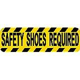 10in X 3in zapatillas de seguridad para ventana de vinilo adhesivo