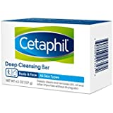 Cetaphil Deep Cleansing Face & Body Bar for All Skin Types, 27 Ounce
