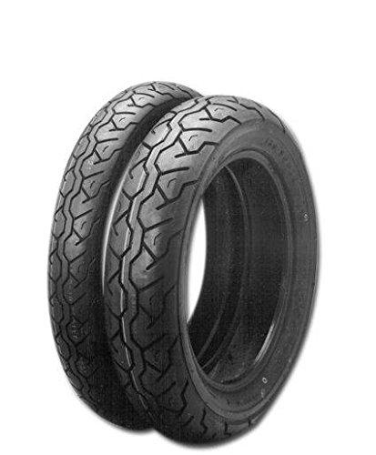 Maxxis anteriore 100-90-19 57h nero stile aggressivo, alta capacità di carico e codice h per velocità fino a 130 mph, fanno di queste gomme un'ottima scelta per la tua moto.