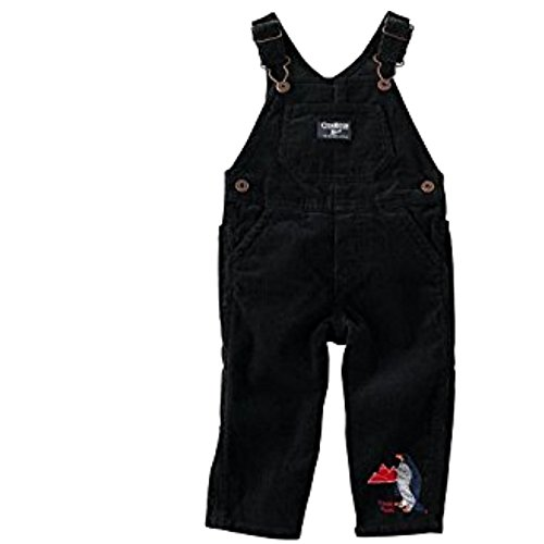 oshkosh-bgosh-pantalon-de-peto-chaqueta-guateada-para-bebe-nino-negro-68-cm