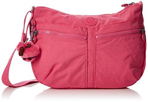 Kipling Damen IZELLAH Umhängetasche, City Pink, 33 x 23 x 12 cm