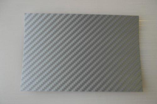 Könighaus 4D Carbon Grau Folie 200 x 152 cm blasenfrei mit Anleitung (Autofolie)