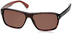 Police UV Protected Square Mens Sunglasses (S1862M58722SG|58|Brown lens)