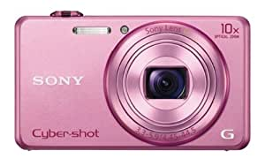 Sony Cyber-shot DSC-WX200/PCE32 18.2MP Point-and-Shoot Digital Camera (Pink) with Camera Case