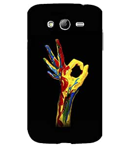 printtech OK Colored Hand Back Case Cover for Samsung Galaxy Grand Neo Plus / Samsung Galaxy Grand Neo Plus i9060i