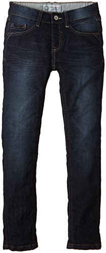 s.Oliver Junior Jungen Jeanshose 5 - Pocket, Gr. 134, Blau (blue denim stretch 58Z7)