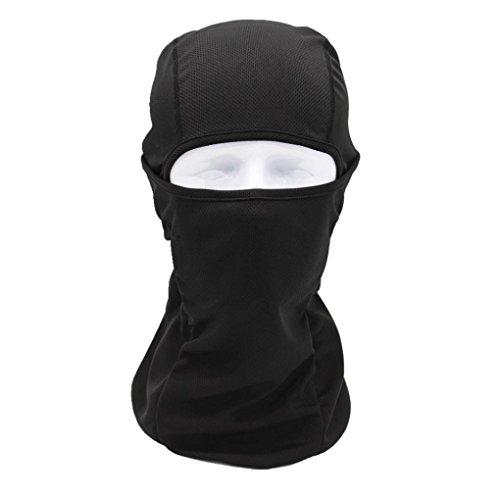 sunnymi Super Soft Radsport Voll Gesichtsmaske Helm 2018 Unisex Multifunktionale Radfahren Schal ❤️ Atmungsaktive Sonnenschutz Winddichte Sport (Schwarz) (Kinder-terrasse-gartenmöbel)