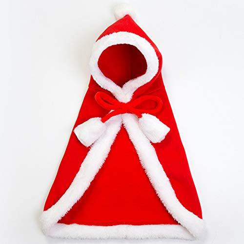 PZSSXDZW New pet Weihnachten Kleidung drucken Weihnachten Halloween dicken Stil ziehen Hund Mode Weihnachten Mantel