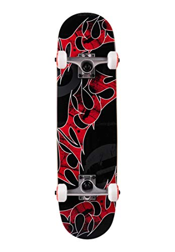 TITUS Complete-Board Triple-Schranz-Mini, Black, 7.5