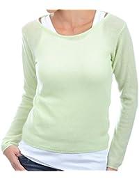 Balldiri 100/% Cashmere Herren Pullover V Ausschnitt helles grün XXXL