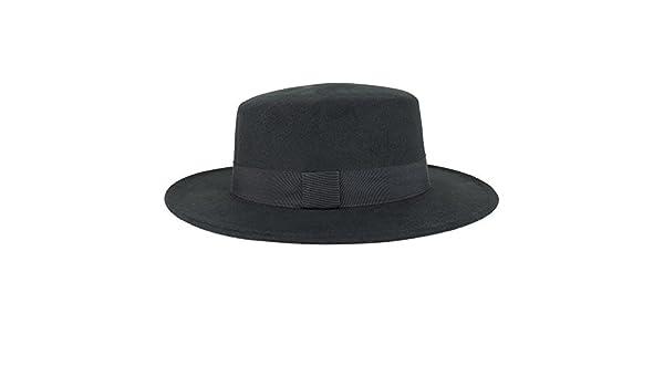 Trendy Apparel Shop Womens Poly Faux Felt Panama Hat With Text Unity Underbrim