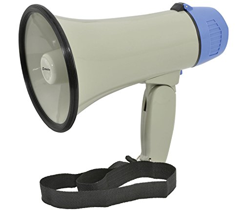 Portable Megaphone With Siren | 10W