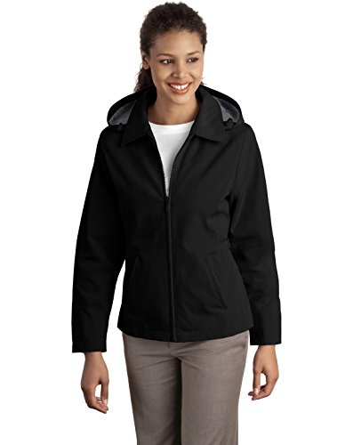 Port Authority® Ladies Legacy™ Jacket. L764 Black/Steel Grey L (Authority Legacy-jacke Port Damen)