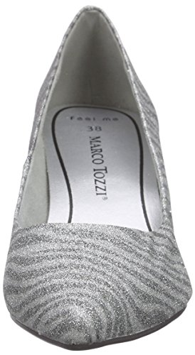 Marco Tozzi Damen 22423 Pumps Silber (SILVER COMB 948)