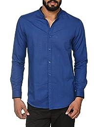 F Factor By Pantaloons Men's Linen Cotton Shirt