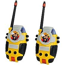 Sam El Bombero - Set de 2 walkie talkies (Simba 3099611)