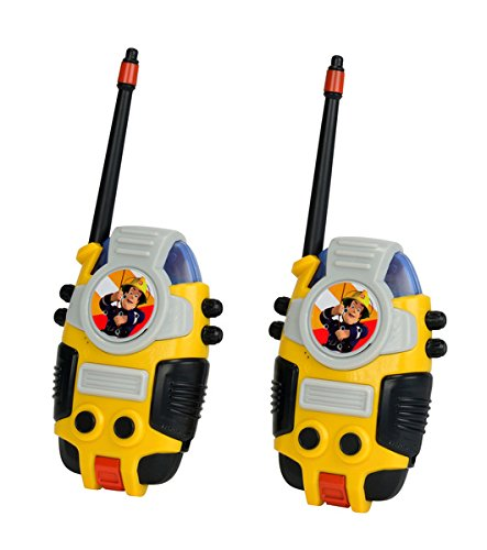 Sam El Bombero - Set de 2 walkie talkies (Simba 3099611)