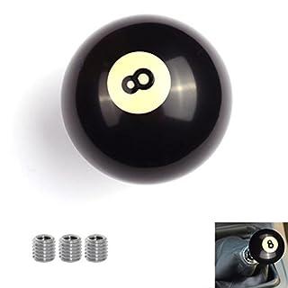 AutoBoy Universal Schaltknauf Schwarz Ball Shape Auto Schaltknauf Schaltkopf für Most manuellen und automatischen Autos ohne Lock Taste